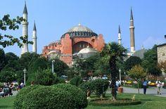 Hagia Sophia mosque and museum, Istanbul 1989