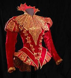 A brûle pourpoint P'tit Pat' Rouennais. More like crazy pretty and kewl things to do with brocade/jacquard Mode Renaissance, Renaissance Fashion, Historical Costume, Historical Clothing, Costume Original, Mode Costume, Landsknecht, Theatre Costumes, Doublet