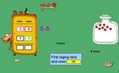 online games for subtraction with regrouping