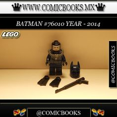 Batman from LEGO set #76010 You can buy this LEGO toy at: www.comicbooks.mx Also follow us on Instagram: comicbooks, sundaycomics and sportscards