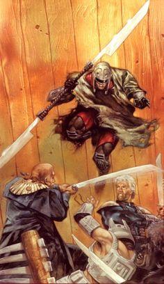 Cover art for 'Crimson Empire II #2'