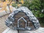 Мобильный LiveInternet Домик из камня. Роспись | Марриэтта - Вдохновлялочка Марриэтты |