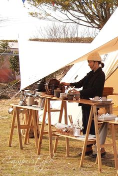 CAMPSTYLE取材HN tomo&sayaさんご夫婦(ノルディスクシロクマテントスー) Outdoor Life, Outdoor Camping, Outdoor Gear, Camping Style, Camping Car, Mobile Catering, Tent Living, Campaign Furniture, Luxury Tents