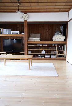 Sale On Interior Paint Refferal: 5969336152 Newel Post Caps, Interior Paint, Interior Design, Faux Stone Panels, Japan Architecture, Japanese House, House Rooms, Storage Spaces, Closets