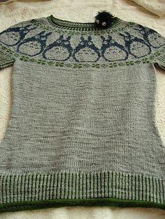totoro sweater :)