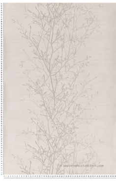 branche scandinave gris - Papier peint Skandinavia de Lutece