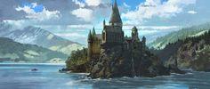 Courtenays Art: World of Art: Dermot Power, Concept artist for the Harry Potter Films