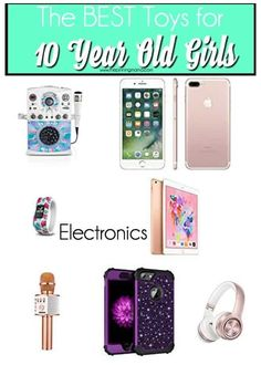 Christmas Gifts For 10 Year Olds, 10 Year Old Gifts, Christmas Gifts For Teen Girls, Christmas Gifts For Girls, Birthday Gifts For Girls, Birthday Stuff, Birthday Ideas, Makeup Kit For Kids, 10 Years Girl