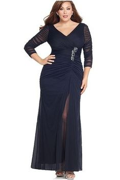 Plus size mother of the bride dresses | Plus Size Mother Of The Bride Wedding Dresses With Sleeves | Popular ...