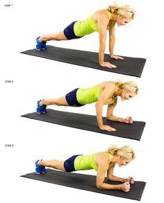 skinny mom plank up downs
