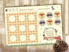 Kit Animalitos del Bosque. Imprimibles personalizables Advent Calendar, Kit, Holiday Decor, Animals Of The Rainforest, Wrapping, Decorated Boxes, Candy Stations, Printables, Invitations