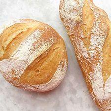 King Arthur no knead bread - refrigerator dough -- makes 4 loaves