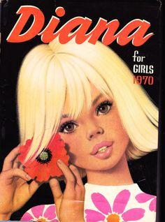 Diana for Girls 1970  #vintage