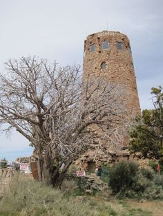 Desert view watch tower, Grand Canyon, Az.
