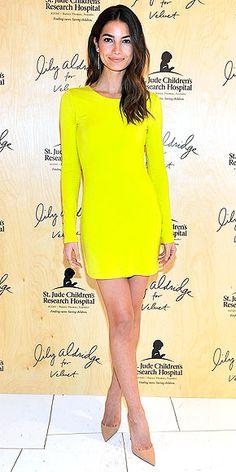 Sexy Bright Yellow Dress