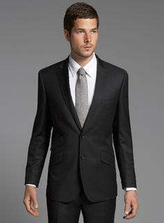 black tie with charcoal suit - Google Search | Groom & Groomsmen ...