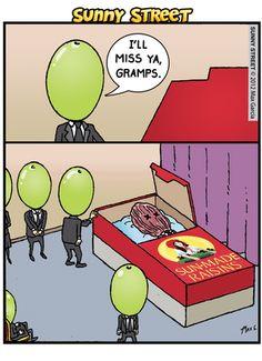 Funny Cartoon Pictures, Cartoon Jokes, Funny Cartoons, Funny Images, Funny Puns, Stupid Funny, Funny Texts, Hilarious Stuff, Dark Humor Jokes