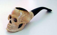 meerschaum skull pipe