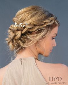 110 Wedding Hairstyles for Long Hair from Hair and Makeup by Steph | Hi Miss Puff - Part 15