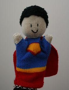 Ravelry: Superhero and villain glove / hand puppets pattern by Amalia Samios