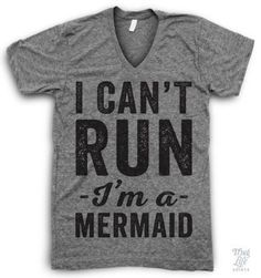 I Can't Run I'm A Mermaid! #finfun #mermaids #mermaidtails