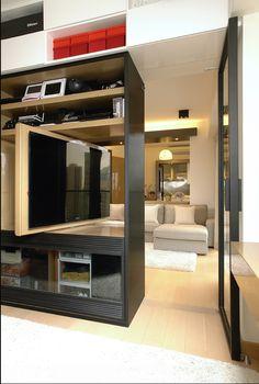 Metal timber Apartment Ample DESIGN