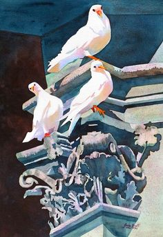 Art of Anne Abgott WATERCOLOR