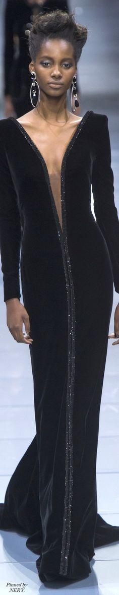 Armani Privé Couture Fall 2016