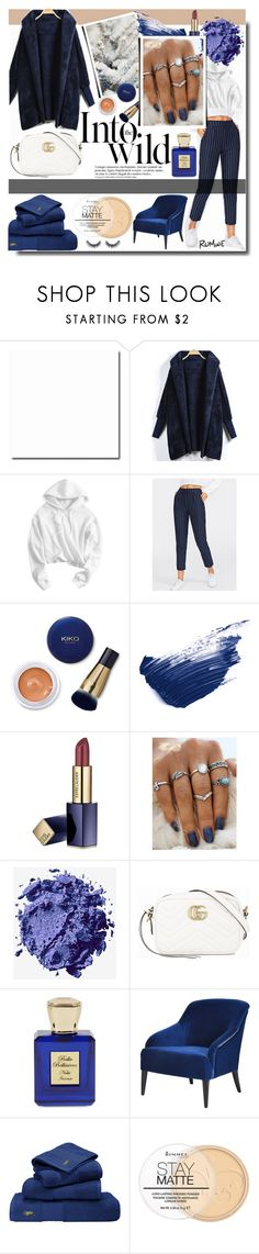 """""""Into the wild / ROMWE"""" by fashiondiary5 ❤ liked on Polyvore featuring Anja, By Terry, Estée Lauder, NYX, Gucci, Bella Bellissima, BYRON, Ralph Lauren Home, Rimmel and Winter"""