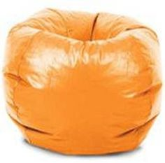 """The Classic Bean Bag has been everyone's favorite chair for over 40-year. Covered in a beautiful gabardine fabric, this bean bag will be a fun and comfortable place to lounge for many-year. Trendy and comfortable seating. Great for family rooms and teen rooms. Double-locking zipper keeps fill inside. Polystyrene bean filling. Spot clean. Suitable for all ages. 88"""" circumference. Available in assorted colors and patterns."""