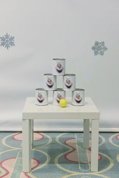 Party Games Snowman Toss Frozen Party Games, Frozen Themed Birthday Party, Slumber Party Games, Carnival Birthday Parties, Birthday Party Games, Slumber Parties, Ninja Turtle Birthday, Ninja Turtle Party, Christmas Party Games