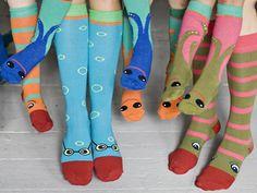 Socks with eyes, uh yeeees