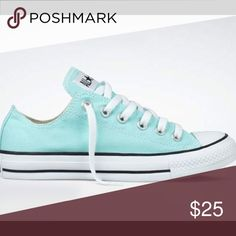 Converse Mint green converse Converse Shoes Sneakers