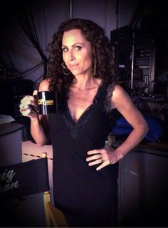 Our friend Minnie Driver was on The Late Late Show with Craig Ferguson wearing the TYSA Georgi Ann Dress!