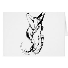 Shop Tribal Fox Tattoo Design created by MoD_Store. Wolf Tattoos For Women, Ankle Tattoos For Women, Tattoos For Women Small, Small Tattoos, Fox Tattoo Design, Tattoo Designs, Fox Design, Tattoo Ideas, Unique Tattoos With Meaning