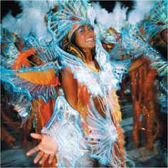 Carnaval Rio De Janiero in Brazil
