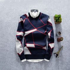 Men sweater - Buy Zafraa Navy Blue Printed Sweater online in India at best price tem specifics Condition New A brandnew, unused and undamaged item that is fully opeartional and functions Stylish Mens Outfits, Simple Outfits, Mens Hottest Fashion, Mens Fashion, Jersey Outfit, Outfit Grid, Denim Jacket Men, Fishing Outfits, Well Dressed Men