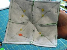 Microwave Bowl Holder Tutorial Handy, washable, and will keep your fingers from being burned! My husband and I use custard cups to heat small portions of soup or stew (any food, actually! If you decide to make. Easy Sewing Projects, Sewing Projects For Beginners, Quilting Projects, Sewing Hacks, Sewing Crafts, Sewing Tips, Quilt Tutorials, Sewing Tutorials, Sewing Patterns