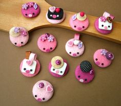INSPIRATION: Button Creatures (via Kima on Flickr)