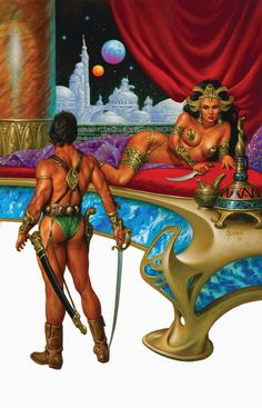 Joe Jusko - Dejah Thoris and John Carter