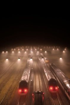 ♥♥ KEWL!  For MY Tracks Walkin' Partner in ALL Things! ♥♥ Fog and Train http://sstefania.soup.io/