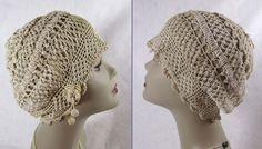 1920s-30s Cloche Deco Era Irish Crochet Cloche by JanesVintage