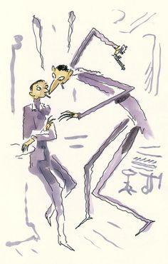 Gainsbourg par Sfar : des aquarelles inédites