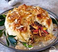 Transform leftover turkey in this spiced filo pastry parcel, inspired by a Moroccan pastilla - a perfect main course for Boxing Day