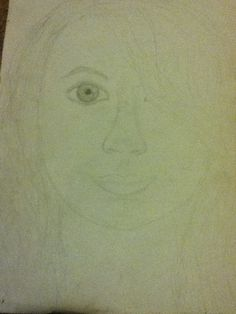 A sketch of my sister I drew ( lol I'm not so sure about this one...)