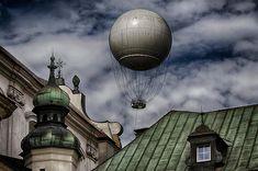 Balloon Over Krakow, Poland.