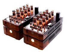 High end audio audiophile Navison Audio NVS-150 Reference OTL Tube Power Amplifier