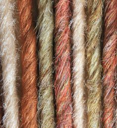 Autumn Mix SE Twisted Synthetic Dreadlocks -Naturals Series- Autumn- on Etsy, $27.99 CAD