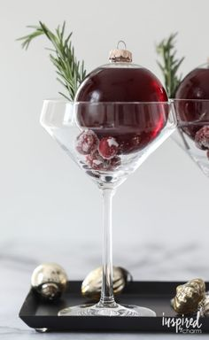 Very Merry Ornamentini from /inspiredbycharm/
