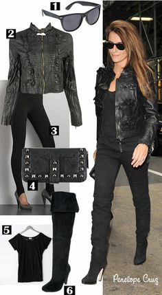 oh yeah! love the rocker chic look